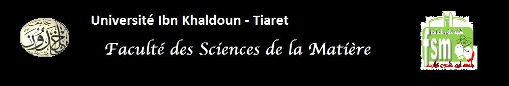 Faculté des Sciences de la Matière
